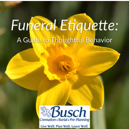 A Guide To Funeral Etiquette